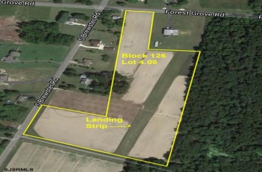 Lot 4.06 Forest Grove, Vineland, New Jersey 08360, ,10+ To 20 Acres,For Sale,Forest Grove,13924