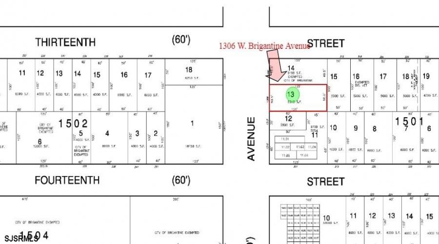 1306 Brigantine Ave, Brigantine, New Jersey 08203, ,For Sale,Brigantine Ave,14310