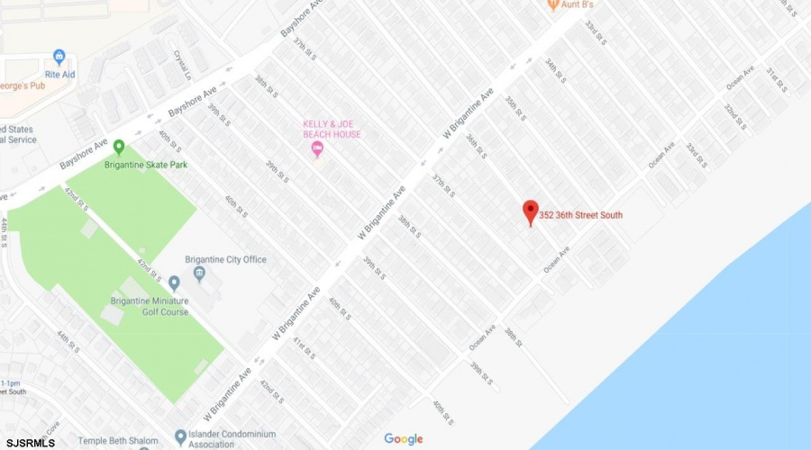 352 36th St S, Brigantine, New Jersey 08203, ,Single Family,For Sale,36th St S,1863